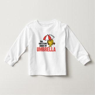 Usted puede colocarse debajo de mi paraguas remeras