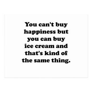 Usted puede comprar helado tarjetas postales