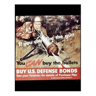 Usted puede comprar las balas postal