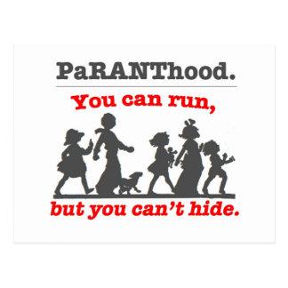 ¡Usted puede correr pero usted no puede ocultar… Tarjetas Postales