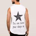 Usted puede dejar sus grietas encendido camiseta sin mangas