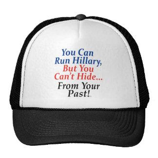 Usted puede funcionar con a Hillary, PERO… Gorras