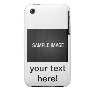 usted puede hacerle - apenas allí el caso iphone3 iPhone 3 Case-Mate coberturas