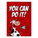 ¡Usted puede hacerlo! Tarjeta