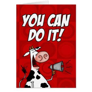 ¡Usted puede hacerlo! Tarjeta De Felicitación