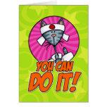 ¡Usted puede hacerlo! Tarjetón
