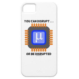 Usted puede interrumpir… o ser microprocesador funda para iPhone SE/5/5s