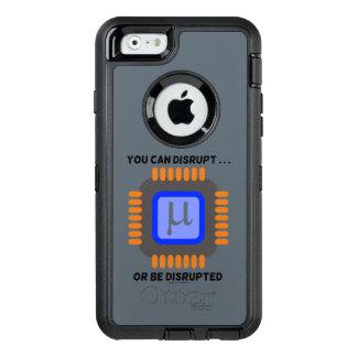 Usted puede interrumpir… o ser semiconductor funda OtterBox defender para iPhone 6