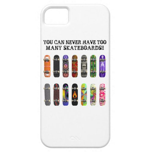 ¡Usted puede nunca tener demasiados monopatines! iPhone 5 Carcasa