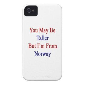 Usted puede ser más alto pero soy de Noruega iPhone 4 Fundas