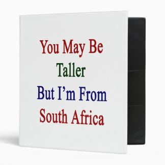 """Usted puede ser más alto pero soy de Suráfrica Carpeta 1"""""""