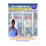 Usted puede ser que sea en atención sanitaria si # tarjetas postales
