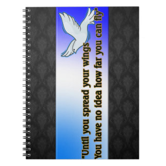 USTED PUEDE VOLAR SPIRAL NOTEBOOK