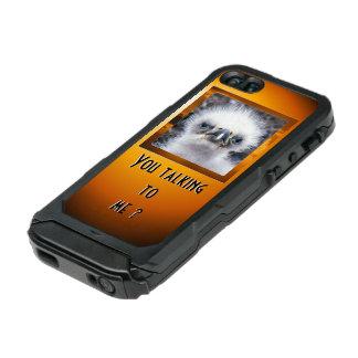 ¿Usted que habla conmigo? Carcasa De Iphone 5 Incipio Atlas Id