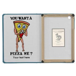 ¿Usted quiere un pedazo de pizza? Ilustration