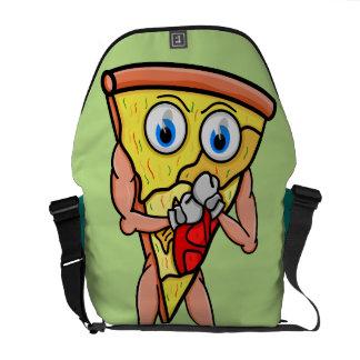 ¿Usted quiere una pizza yo? Dibujo animado Bolsas De Mensajería