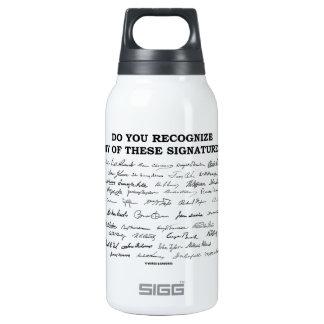 ¿Usted reconoce ninguno de estos firmas? Botella Isotérmica De Agua