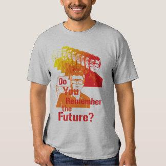 ¿Usted recuerda el futuro? Playeras
