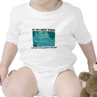 Usted sabe dónde miente el gran remiendo pacífico  traje de bebé