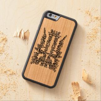 Usted sabe que soy impresionante - caso funda de iPhone 6 bumper cerezo