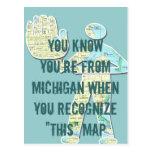 Usted sabe que usted es de Michigan cuando usted r Tarjeta Postal