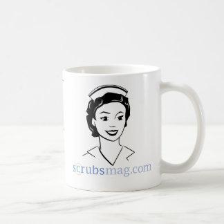 Usted sabe que usted es enfermera de la urología c tazas de café