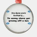 Usted sabe que usted es escocés…. adornos