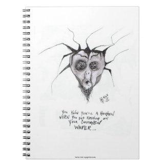 """""""Usted sabe que usted es un pagano cuando…"""" Libro De Apuntes Con Espiral"""