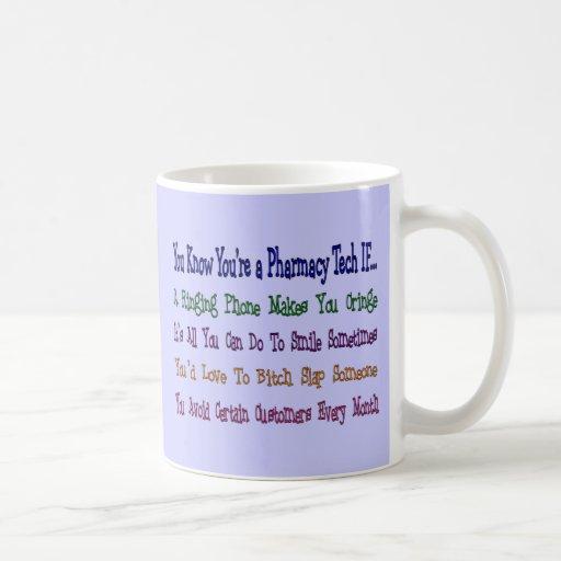 Usted sabe que usted es una TECNOLOGÍA de la Taza De Café