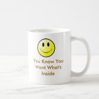 Usted sabe que usted lo quiere tazas de café