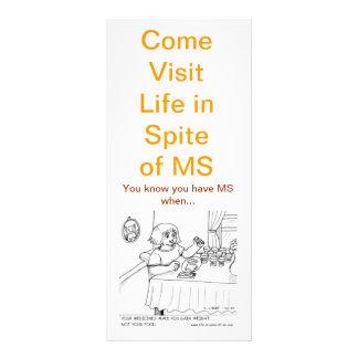 Usted sabe que usted tiene el ms cuando….¿? Tarjet Tarjeta Publicitaria Personalizada