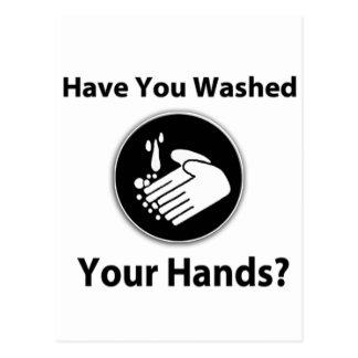 ¿Usted se ha lavado las manos? Postales