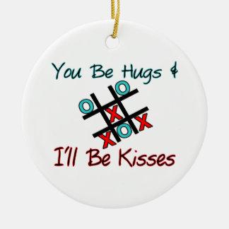 Usted sea abrazos que seré besos ornato