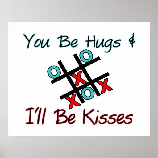 Usted sea abrazos que seré besos impresiones