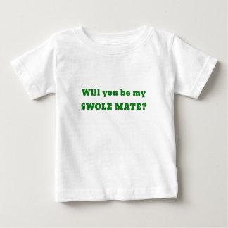 Usted será mi compañero de Swole Playera De Bebé