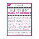 ¿Usted será mi criada del honor? Collage Comunicados