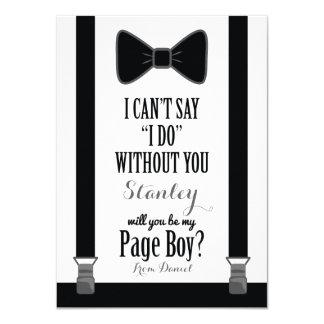 """Usted será mi muchacho de la página - apoyos del invitación 4.5"""" x 6.25"""""""