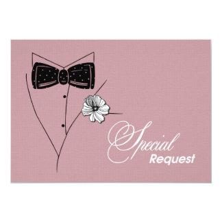 ¿Usted será mi padrino de boda? Tarjetas Invitación Personalizada