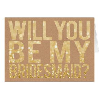 Usted será mi tarjeta de la tipografía del brillo
