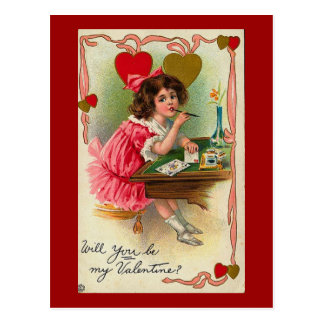 Usted será mi tarjeta del día de San Valentín Tarjetas Postales