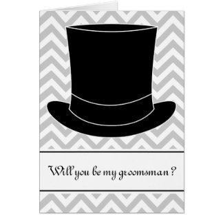 Usted será mi tarjeta el | Chevron del padrino de