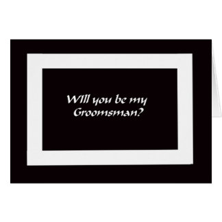 ¿Usted será mis padrinos de boda? Tarjeta