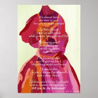 Usted será poster del boda del otoño de mi dama d