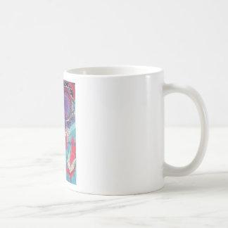 ¿Usted siente la música? Una pintura del arte de Taza De Café