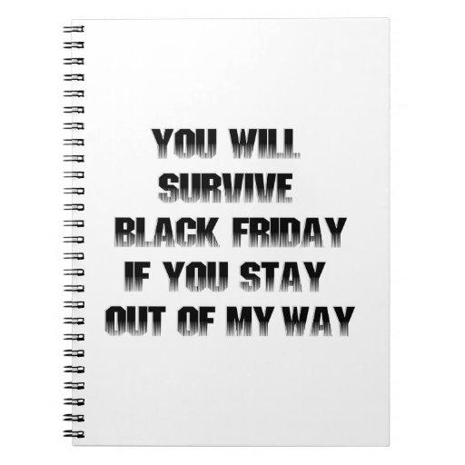 Usted sobrevivirá viernes negro si ...... libreta