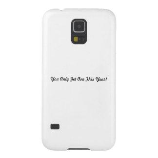 ¡Usted solamente consigue a uno este año! Funda De Galaxy S5