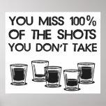 Usted Srta. 100% de los tiros que usted no toma