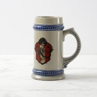 Usted suelta… la mano del hombre muerto jarra de cerveza
