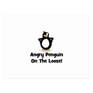 Usted tendrá que pasar a través de mi pingüino postal