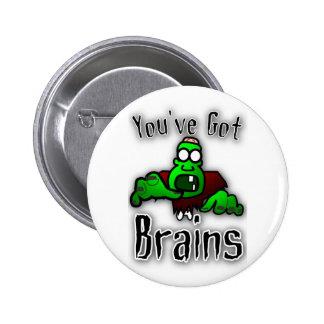 Usted tiene cerebros pin redondo de 2 pulgadas